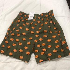Boys JCrew Pumpkin Boxers